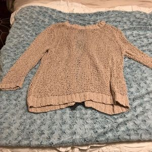 Rachel Roy bow back sweater